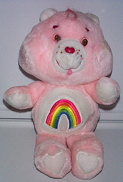 crap passed care bears toted mines faded paint scuffed eyes