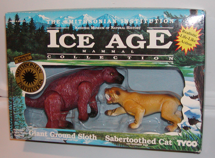 Toys From Ice Age 1 : Sta dino riders the smithsonian institution dinosaur