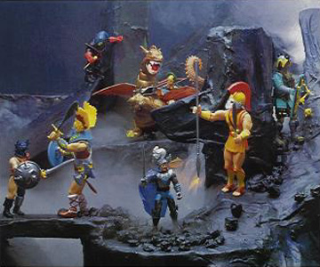 STA: Advanced Dungeons & Dragons Action Figures & Toys