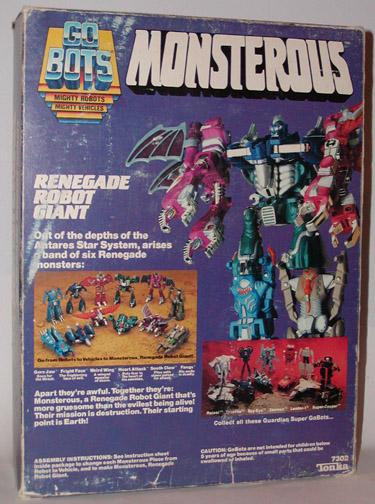 Sta Gobots Monsterous Combiner Figures