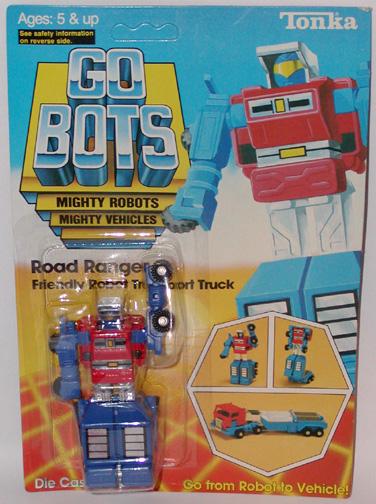 """Section 5 >> STA: Gobots: MR-18 """"RoadRanger"""""""