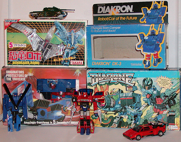 Super Toy Archive Collectible Store: Diaclone / Microman / Kronoform