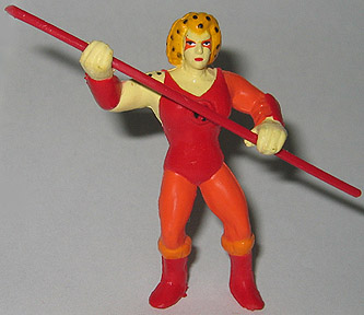 Mini Thundercat on Sta  Thundercats  Miniature Figures  Cheetara