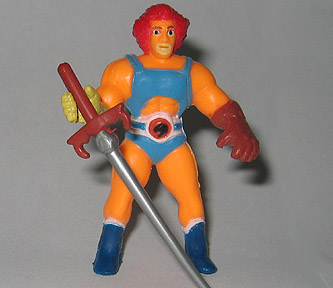 Mini Thundercat on Sta  Thundercats  Miniature Figures  Lion O