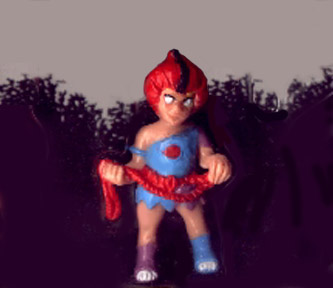 Mini Thundercat on Sta  Thundercats  Miniature Figures  Wileykit