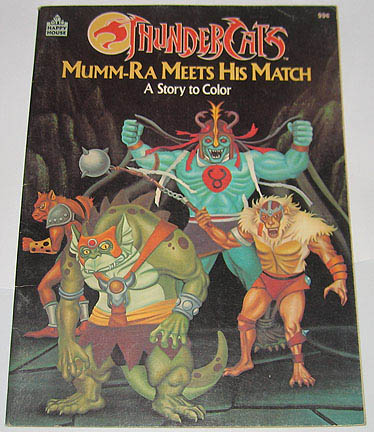 Snarf on Coloring Book  Mumm Ra Meets His Match