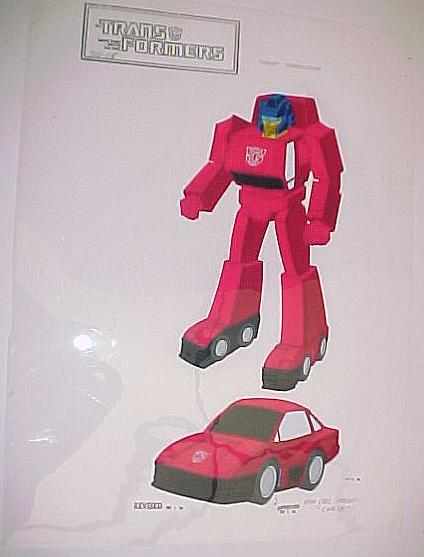 STA: Transformers: Cels: Animators Proofs